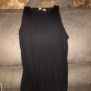 H&M Black T-Shirt Dress